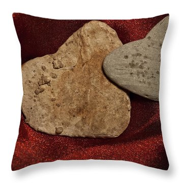 Throw Pillow featuring the photograph True Love Is Blind by Lena Wilhite