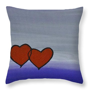 True Love Throw Pillow by Sharon Cummings