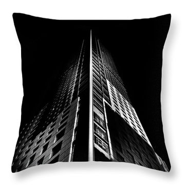 Trump Tower Toronto Canada Throw Pillow by Brian Carson