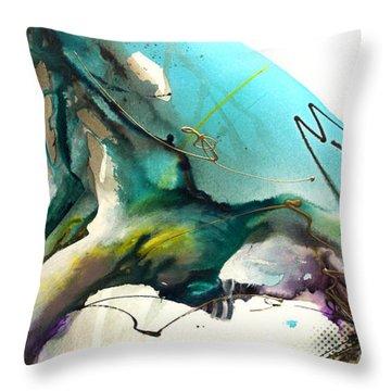 Trust The Flow Throw Pillow