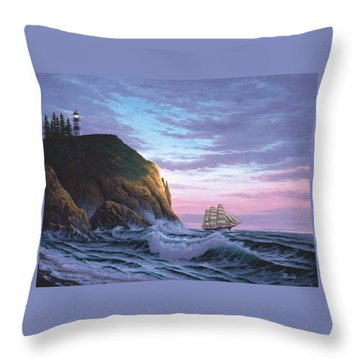 Trusting The Light Throw Pillow