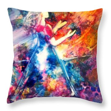 Trusting You Throw Pillow
