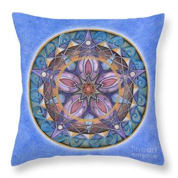 Truth Mandala Throw Pillow