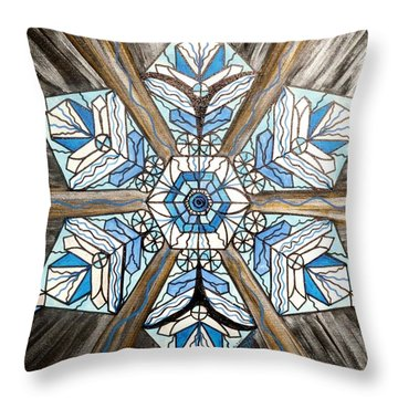Truth Throw Pillow by Teal Eye  Print Store
