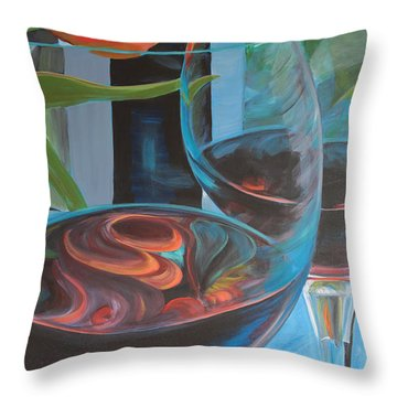 Try Easy Throw Pillow