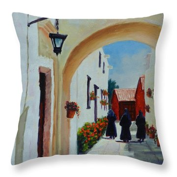 Try To Remember... Throw Pillow