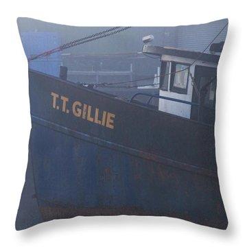 T. T.  Gillie Throw Pillow