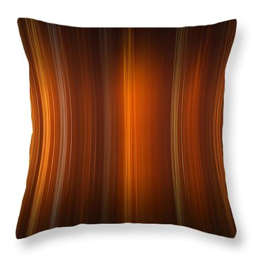 Tube Time Throw Pillow
