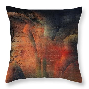 Tubulence - S03ac01 Throw Pillow by Variance Collections