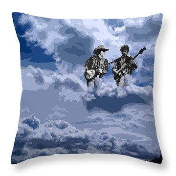 Tucker Boys In The Clouds 2 Throw Pillow