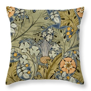 Colorful Flowers Throw Pillows