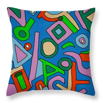 Tuesday At Nine Throw Pillow