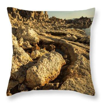 Tufa Rock Throw Pillow