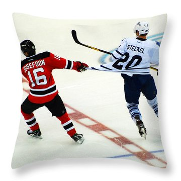 Tugging On The Jersey Throw Pillow