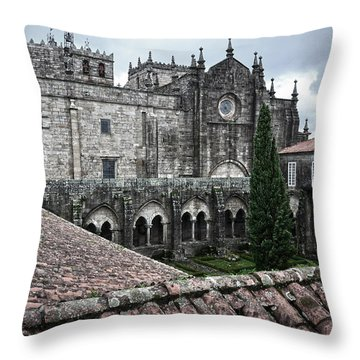 Tui Cathedral Cloister Throw Pillow