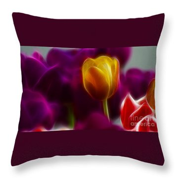 Tulip-6983 Throw Pillow by Gary Gingrich Galleries