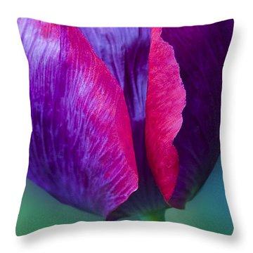 Tulip Bright  Throw Pillow