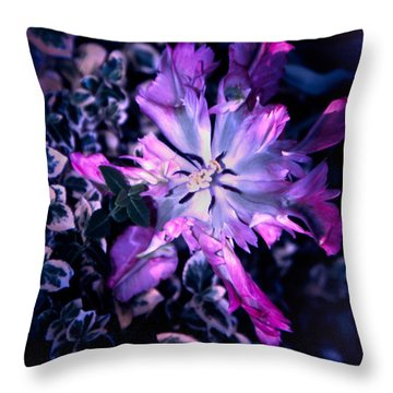 Tulip Fantasy Throw Pillow