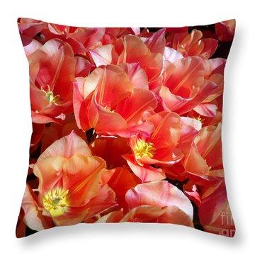 Tulip Festival - 39 Throw Pillow