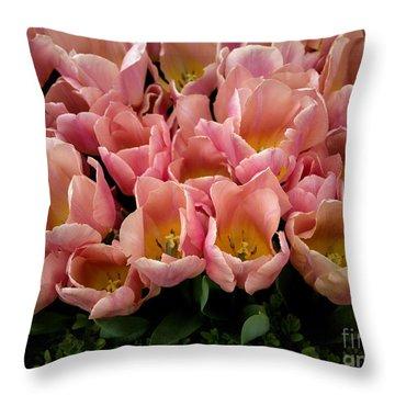 Tulip Festival - 5 Throw Pillow