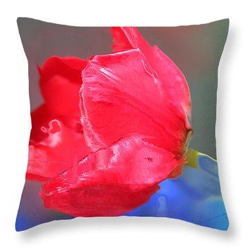 Tulip Throw Pillow by Kume Bryant