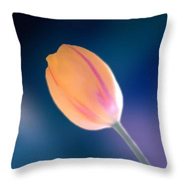 Tulip Throw Pillow by Marcin and Dawid Witukiewicz