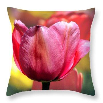 Tulip Solo Throw Pillow