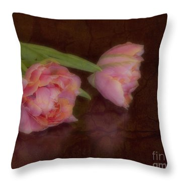 Tulips Throw Pillow by Alana Ranney
