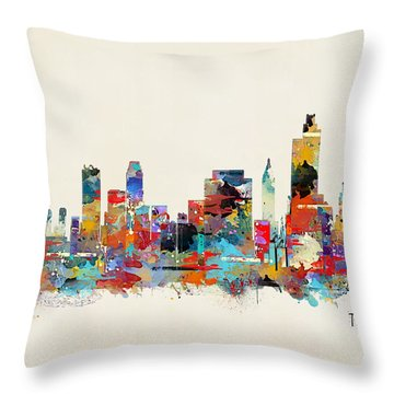 Tulsa Oklahoma Throw Pillow