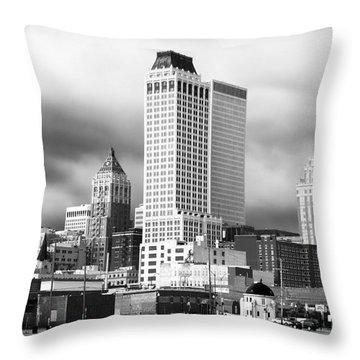 Tulsa Rising Throw Pillow