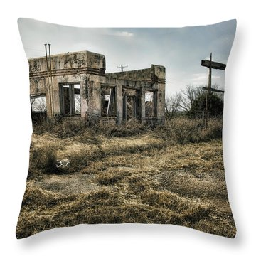 Tumble Down Throw Pillow by Joan Carroll
