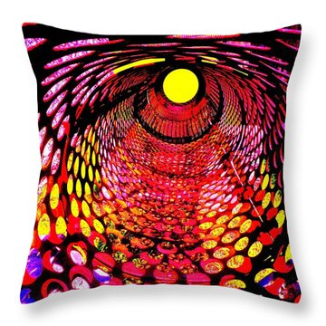 Tumbler Throw Pillow by Robert Geary