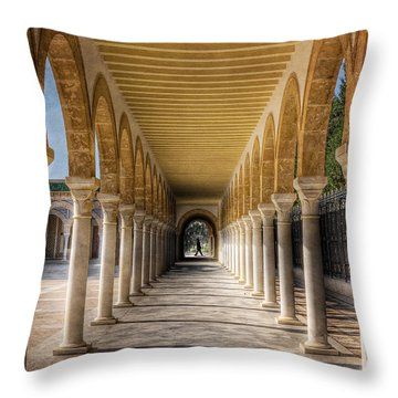 Tunisian Arches / Monastir Throw Pillow