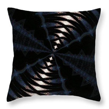 Throw Pillow featuring the photograph Tunnel by Robyn King