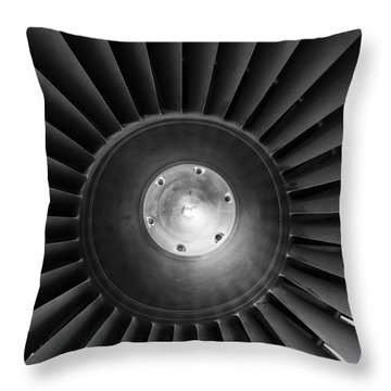 Turbo Throw Pillow