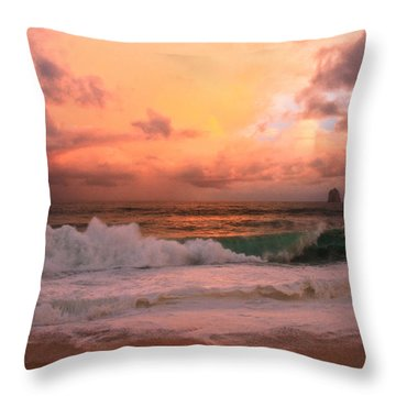Throw Pillow featuring the photograph Turbulence  by Eti Reid