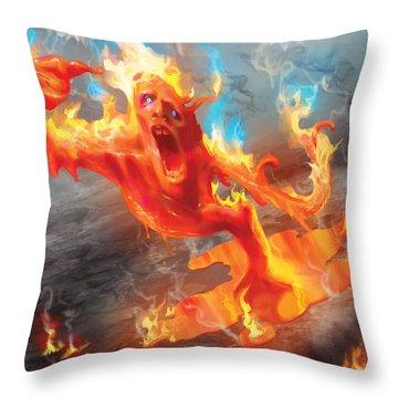 Turn Throw Pillow