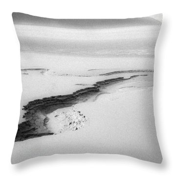 Turnagain Silk Throw Pillow