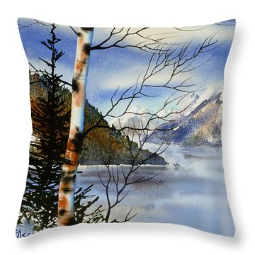 Turnagain View Throw Pillow