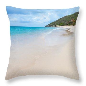 Turner Beach Antigua Throw Pillow