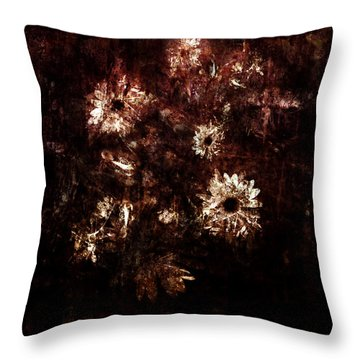 Turner's Flowers Throw Pillow