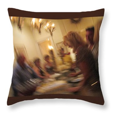 Turning 40 Throw Pillow