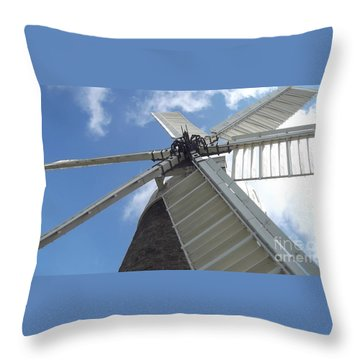 Turning In The Wind Throw Pillow
