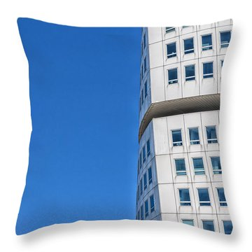 Turning Torso Skyscraper Throw Pillow by Antony McAulay