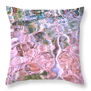 Turquoise Dreams A Throw Pillow by Cindy Lee Longhini