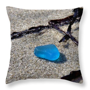 Throw Pillow featuring the photograph Turquoise by Janice Drew