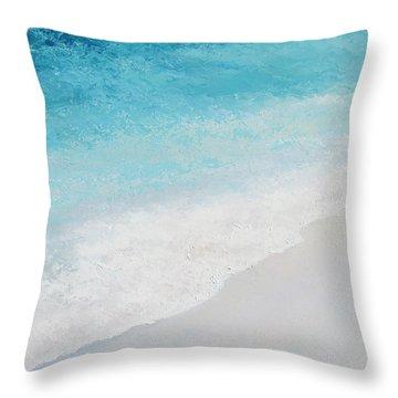 Turquoise Ocean 4 Throw Pillow