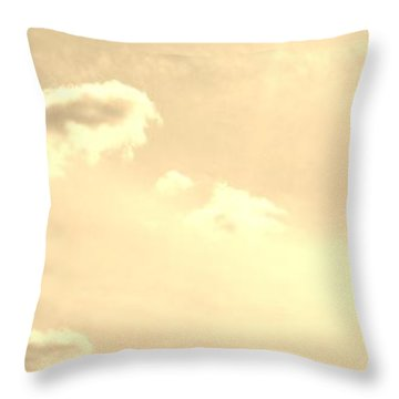 Turtle Cloud Bliss Throw Pillow