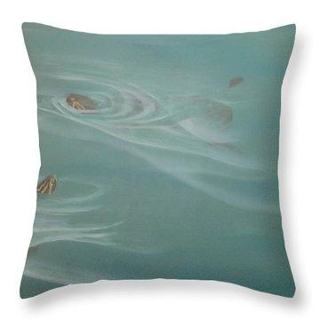 Turtle Pond II Throw Pillow