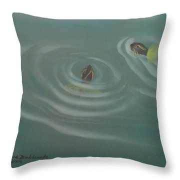Turtle Pond IIi Throw Pillow